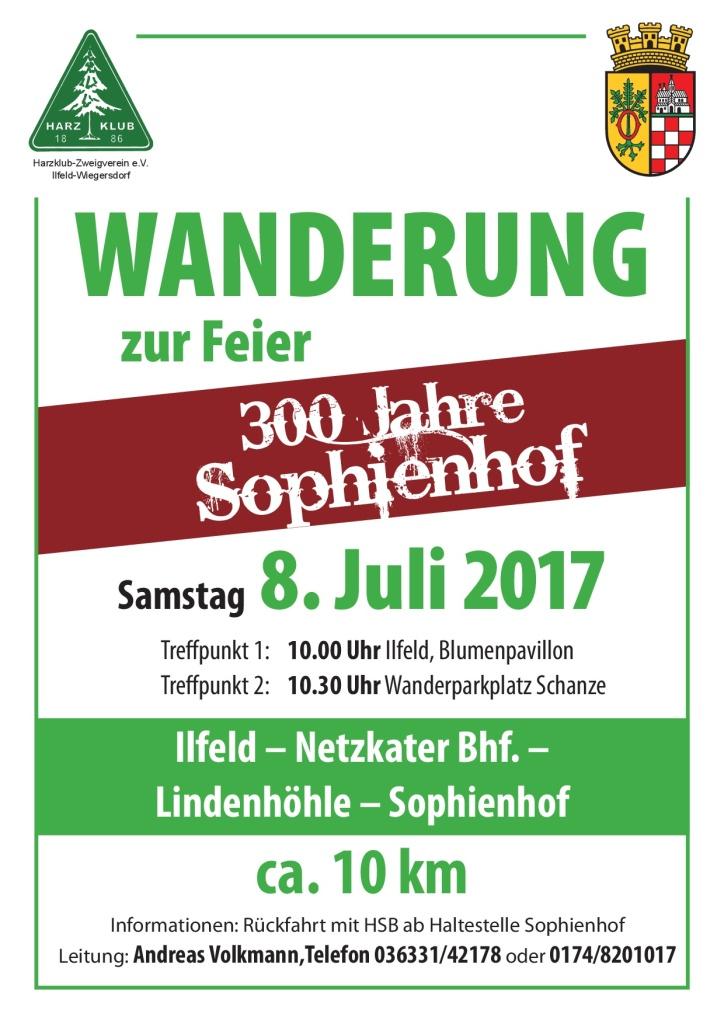 08. Juli Sophienhof