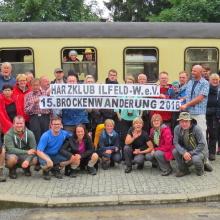 Foto mit Banner in Drei Annen Hohne