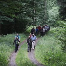 Anstieg zu Hofmanns Hütte