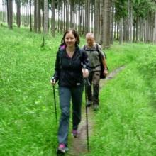Wanderführer und Neuling